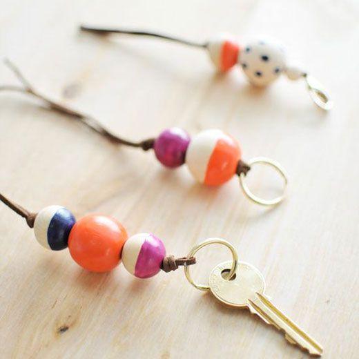 Porte-clés coloré