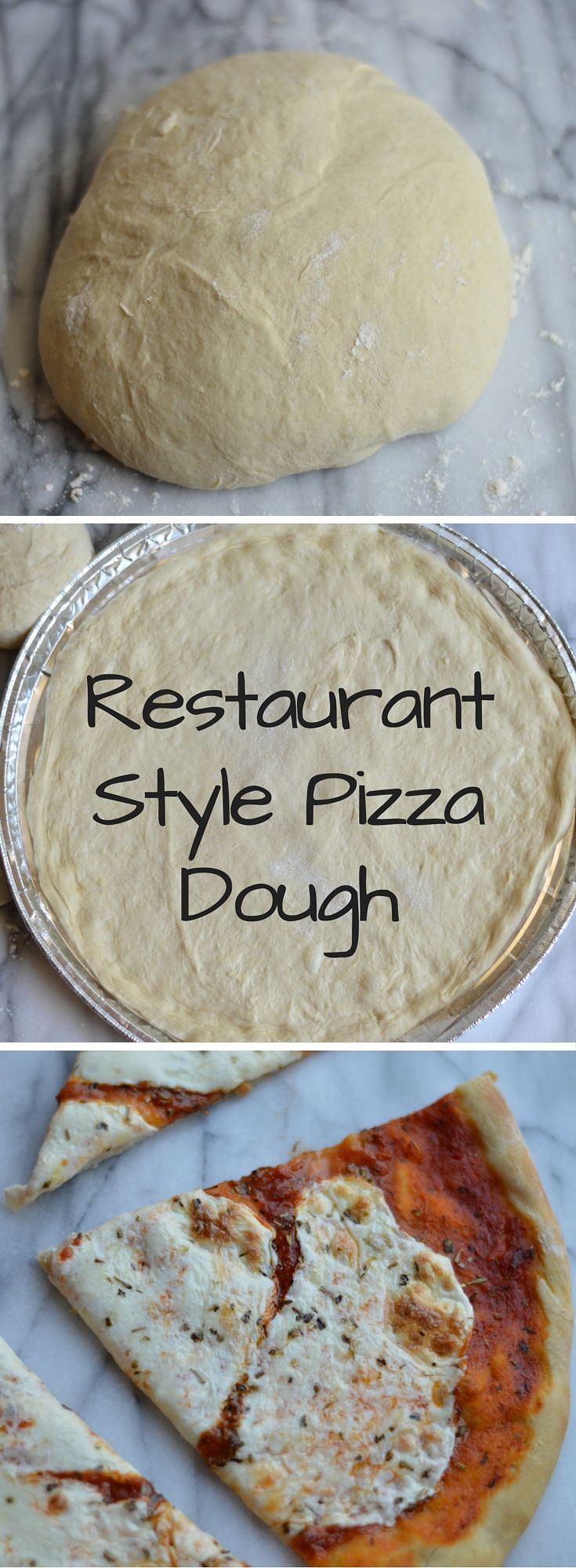 Restaurant Style Pizza Dough - let everyone pick their favorite toppings for an awesome pizza night at home!