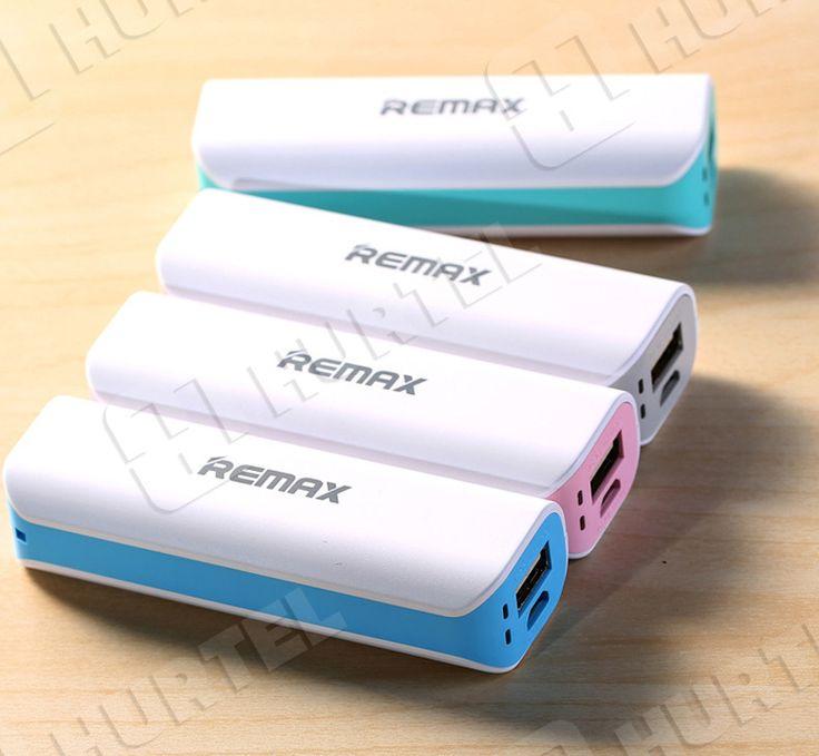 Przenośny power bank Remax bateria 2600 mah do telefonu zielony