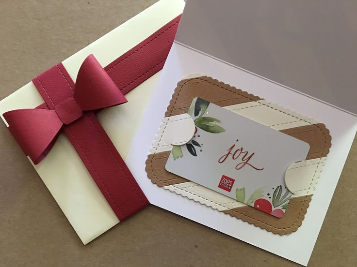 "I have a couple ""cards"" to show you today...gift cards, that is!!  I used the new Simon Says Stamp  Prettied Up Gift Card die set from th..."