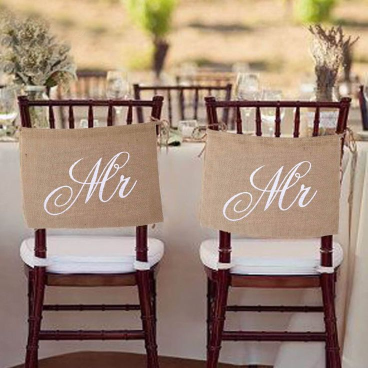 Khaki Mr. & Mrs. Burlap Chair Banner Set Chair Sign Garland Rustic Cotton Hanging Flag for Wedding Party Decoration #>=#>=#>=#>=#> Click on the pin to check out discount price, color, size, shipping, etc. Save and like it!
