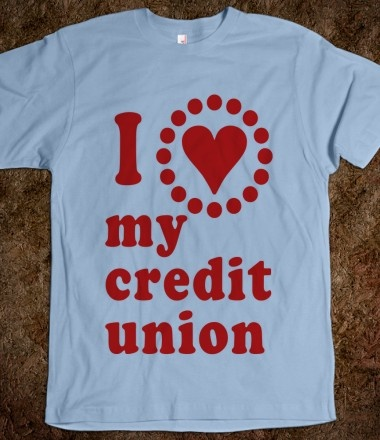 Credit Union Love - TShirt