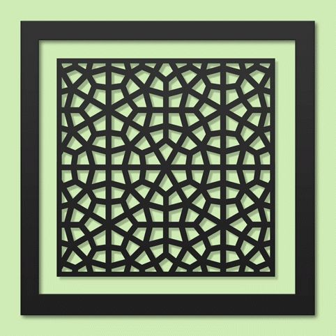 Isfahan   This design is inspired by architecture from Isfahan, Iran. It comes from the famed Chehel Sutun (Forty Columns) Pavilion, built during the Safavid era