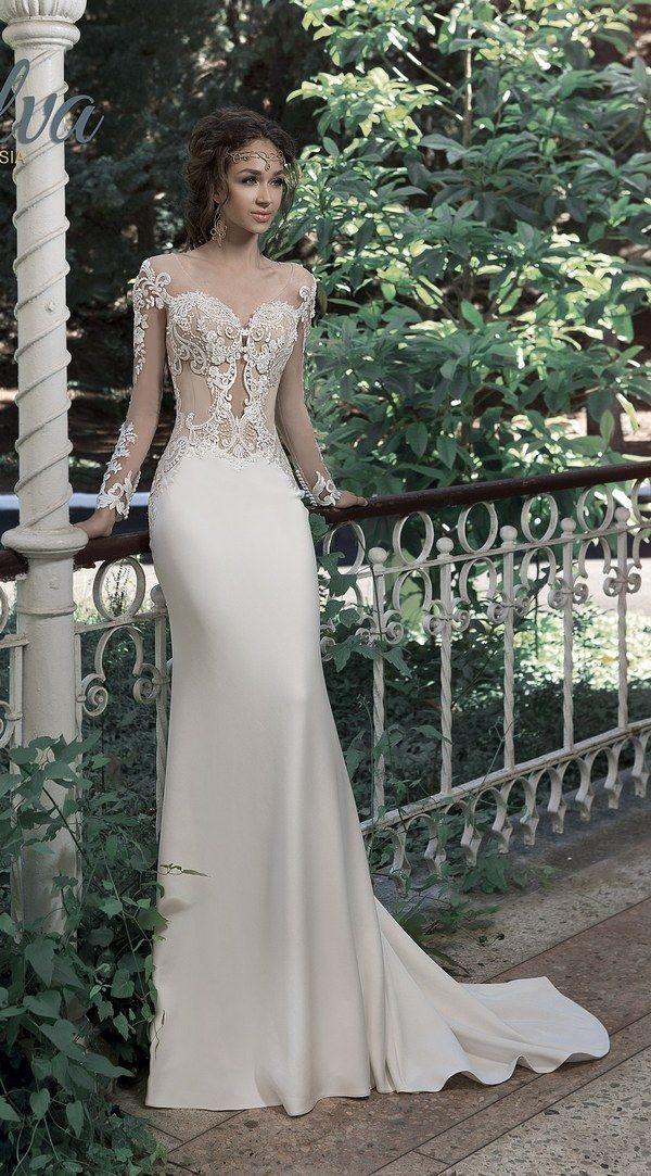 Milva Bridal Wedding Dresses 2017 Valletta / http://www.deerpearlflowers.com/milva-wedding-dresses/