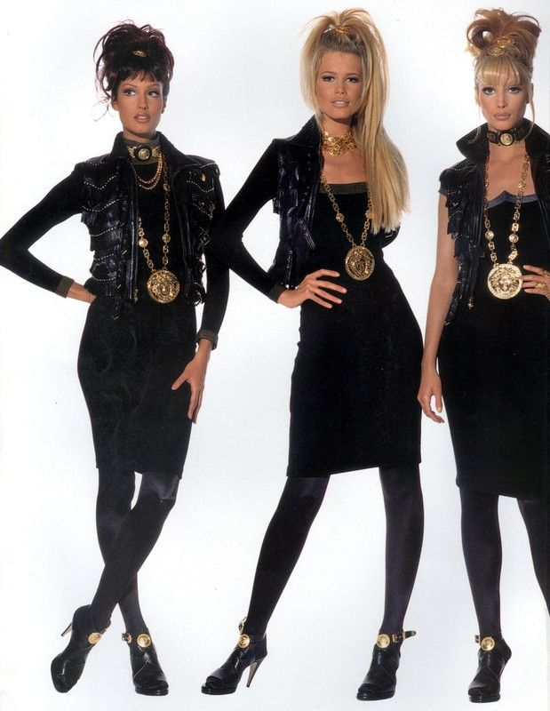 Versace early 90s I love this look.