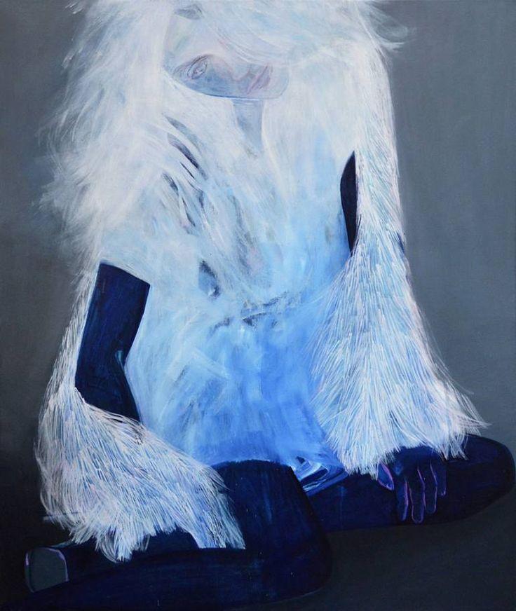 """Saatchi Art Artist Ewa Zwarycz; Painting, """"Fur"""" #art"""