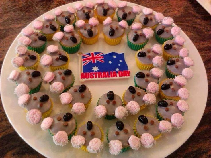 Koala Australia Day