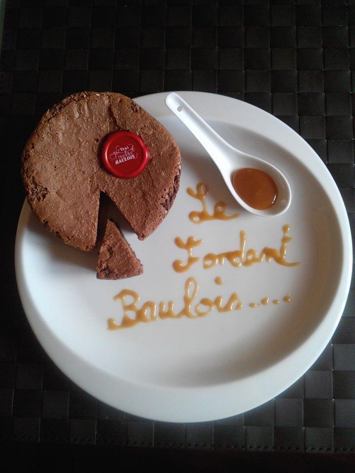 Avec un coulis de caramel beurre salé #Concours