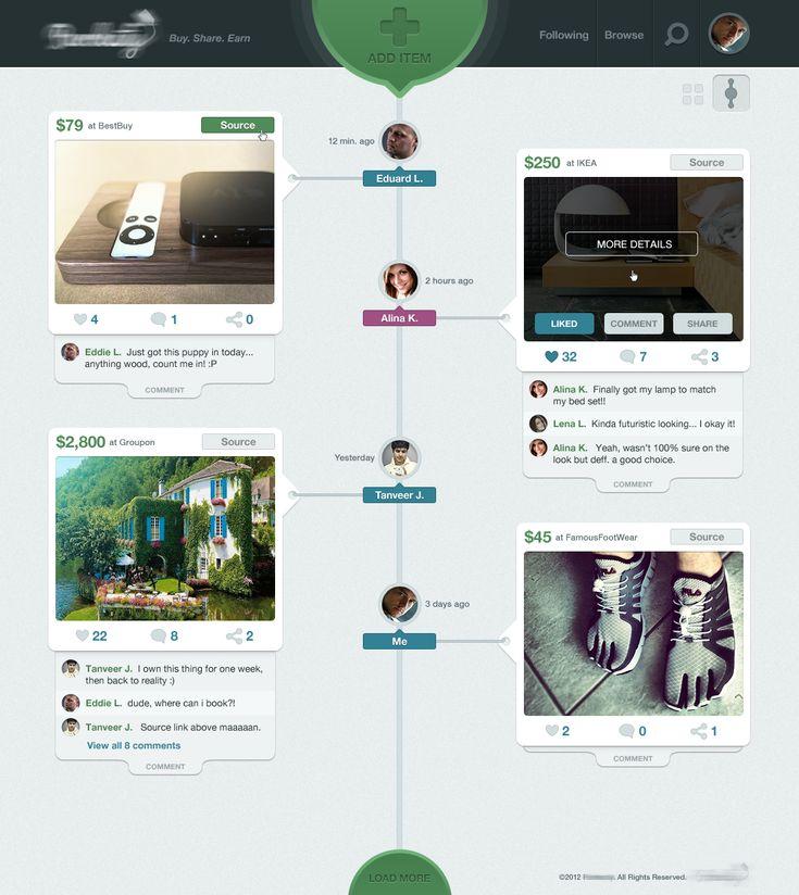 PU Timeline View | Designer: David Kovalev _ 설계 쪽 화면에 쓰면 어떨까??