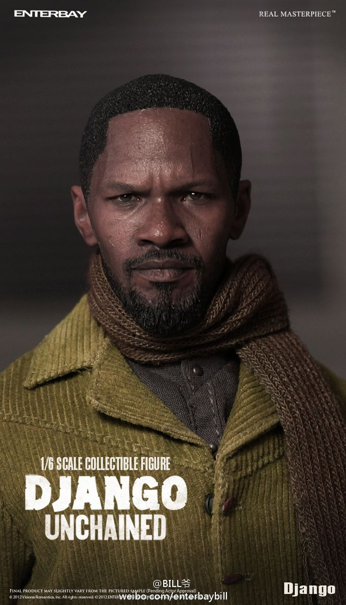 ENTERBAY DJANGO UNCHAINED FIGURES CANCELLED AFTER COMPLAINTS ABOUT THE MOVIE