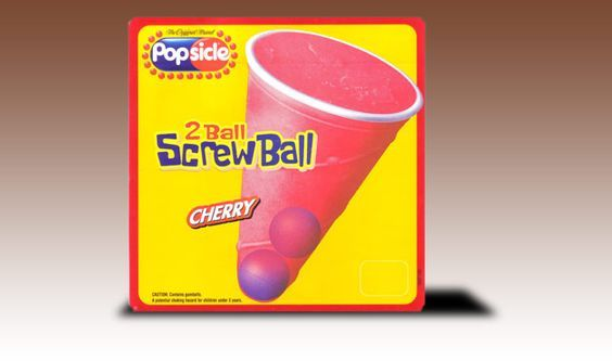 screwballs, gum in the bottom! - loved these off the ice cream truck