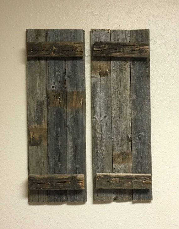 25 best ideas about rustic shutters on pinterest wood - Shutters for decoration interior ...