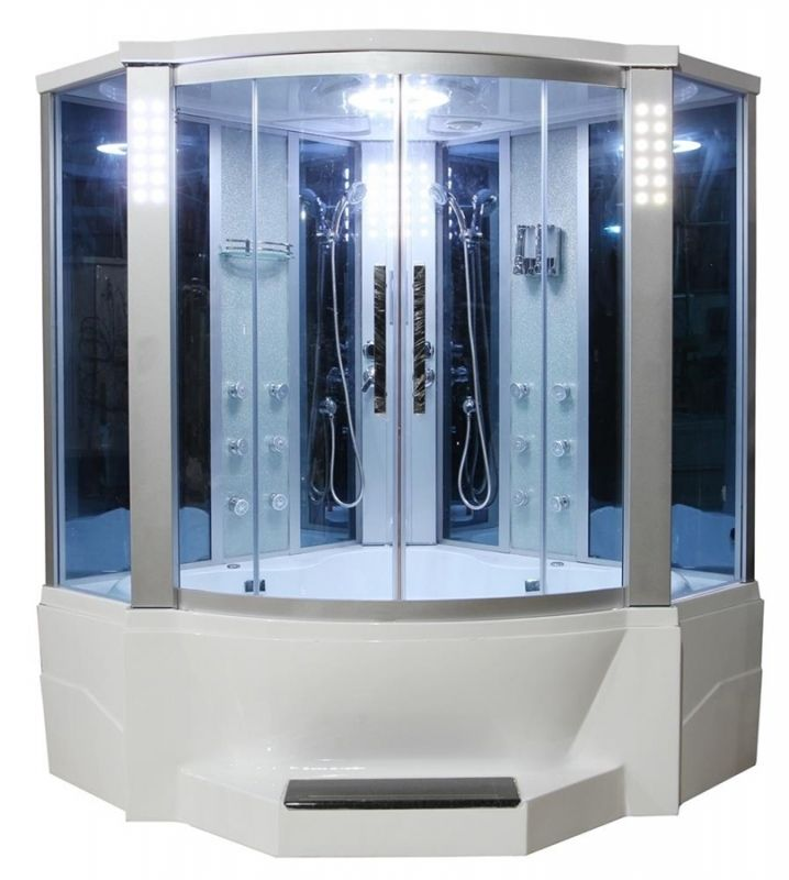 Whirlpool Tub With Shower Surround Steam Shower Enclosure Shower Enclosure Whirlpool Bathtub