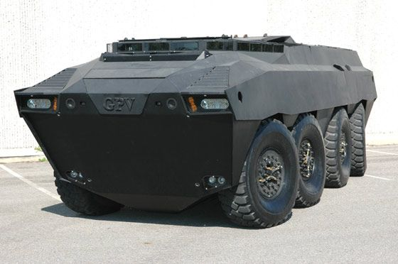 GPV Colonel 8x8x8 Armoured Personnel Carrier - Army Technology:    This look like it would be in a Call of Duty game.