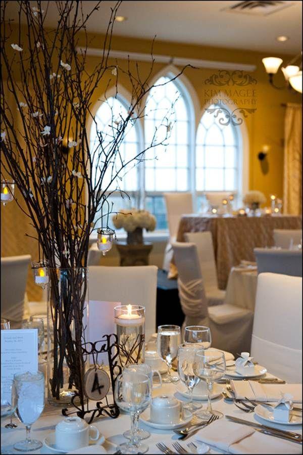 Birch Branch reception hall decor by sonia Denny Events