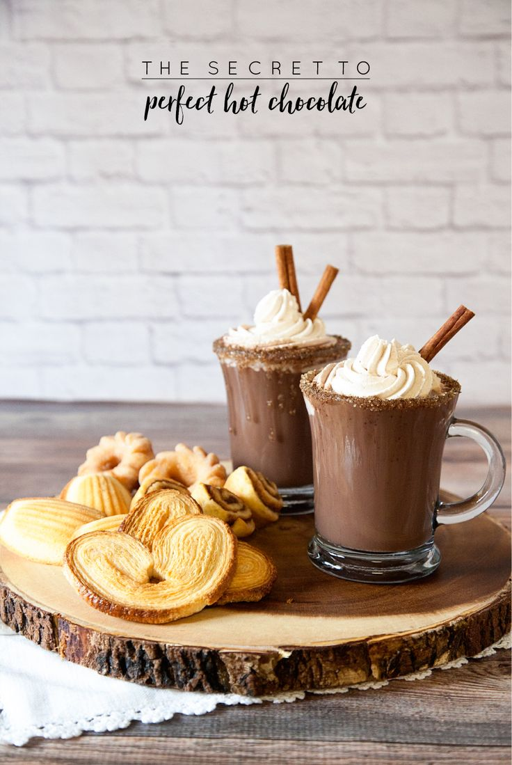 ≡ Cinnamon Hot Chocolate Recipe
