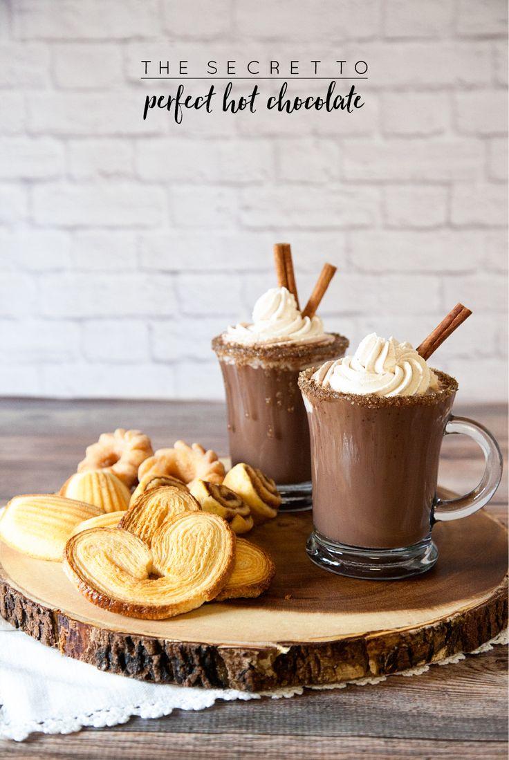 ≡ Cinnamon Hot Chocolate Recipe