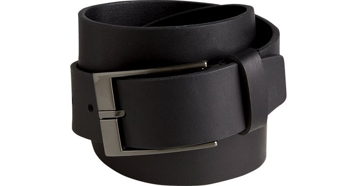 Check this out! Joseph Abboud Black Cut-Edge Belt - Men's Belts & Suspenders from MensWearhouse. #MensWearhouse