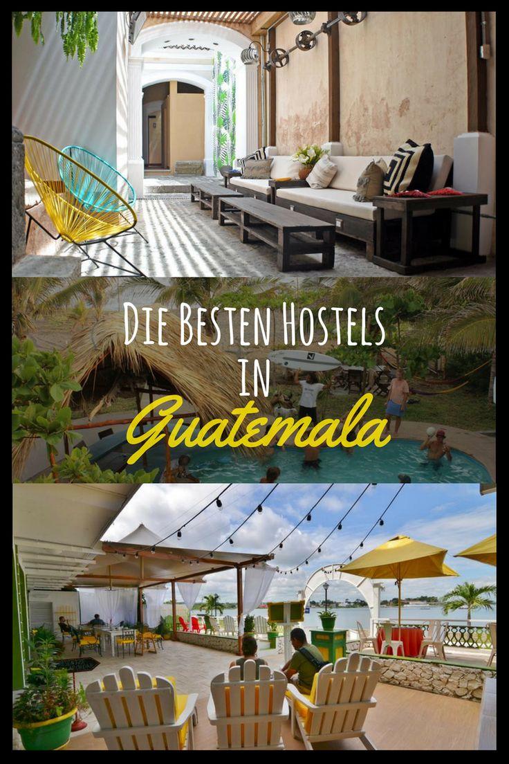 Du suchst noch ein Hostel in Guatemala? Ich habe für euch eine Liste zusammengestellt mit den besten Hostels und Unterkünften in Antigua, Guatemala City, Flores, Lago de Atilan, Quetzaltenango, Livingston, Coban, El Paredon und San Juan La Laguna. Damit findest du die richtige Unterkunft für deine nächste Guatemalareise. #travel #reise #colombia #Guatemala #Antigua #hostel #Flores #livingston #coban #lagodeatilan Vielen Dank fürs weiterpinnen.