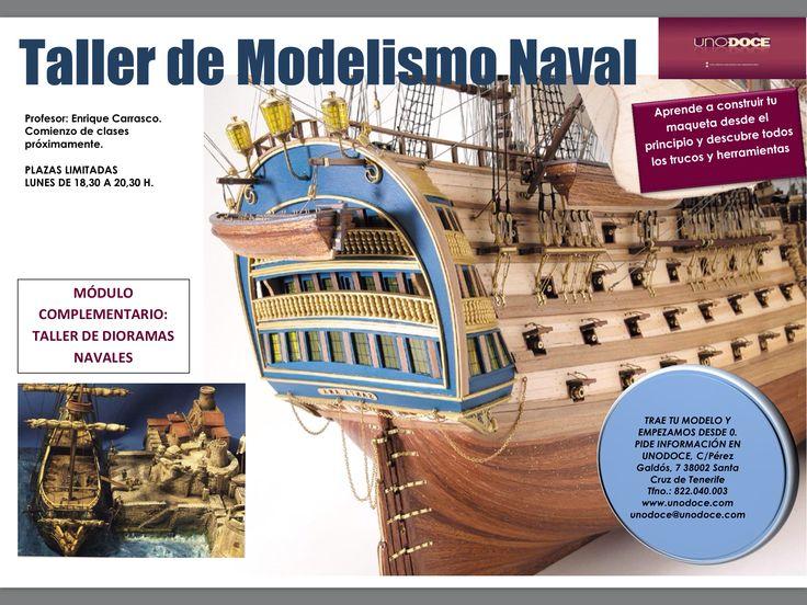 Nuevo curso modelismo naval en UNO:DOCE