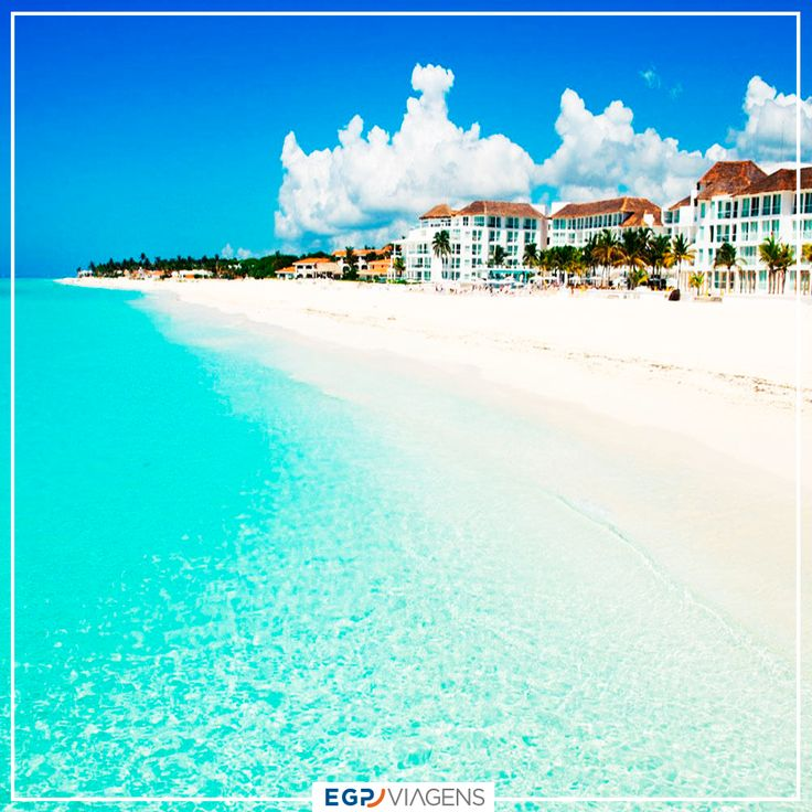 Playa del Carmen, México  #turismo #ferias #mexico #viagem #viajar #cancun #praia