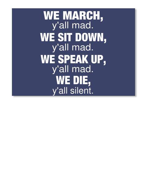 We March Sticker