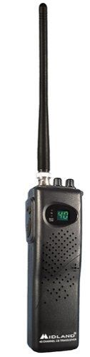 Midland 75-785 40-Channel CB Radio by Midland. $43.95. Amazon.com                 This CB radio comes with seven watts of input and four watts of output (the FCC maximum allowable), and is a sleek and slim handheld that's 33% smaller than its predecessor. Highlights include automatic noise control, automatic gain control, a bright LED display, high/low power switch, and plenty more. With battery saving circuitry, this mobile radio can operate on 9 AA batteries or use your vehicl...