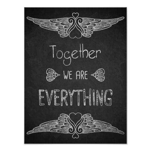Love quote art chalkboard art print