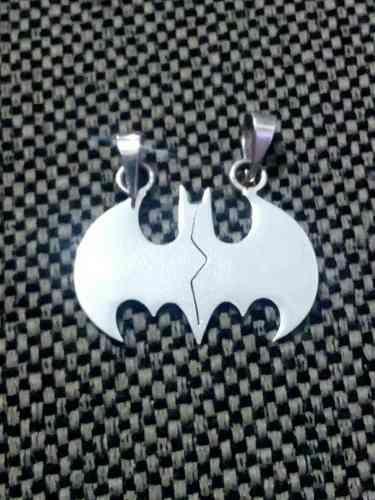 Dije De Batman Para Parejas Joyería De Plata.925 - $ 549.00