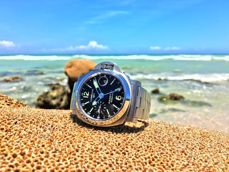 Sporty Watches for Summer: Panerai Luminor GMT