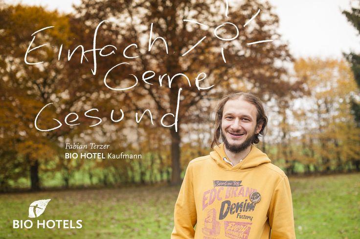 Fabian Terzer, Ihr Gastgeber im Bio-Hotel & Residence Kaufmann *** in Auer in #Südtirol. #biohotels #