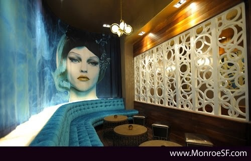 Monroe Lounge in SF. By Mr Important Design