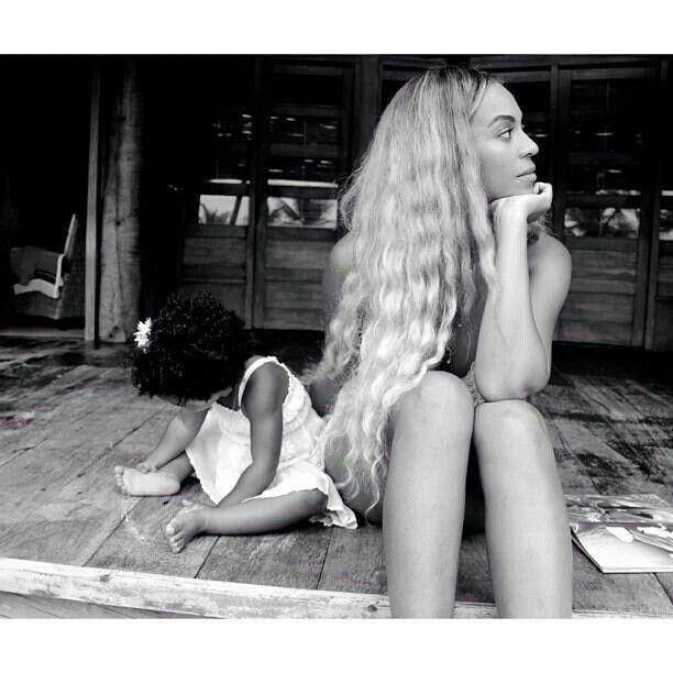Beyonce et sa fille