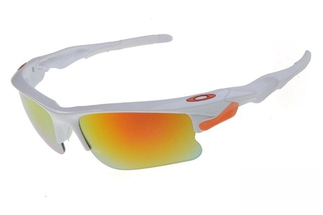 Oakley Fast Jacket sunglasses white / fire iridium - Up to 86% off Oakley sunglasses for sale online, Global express delivery and FREE returns on all orders. #Oakley #sunglasses #cheapoakleysunglasses #mensunglasses #womensunglasses #fakeoakeysunglasses