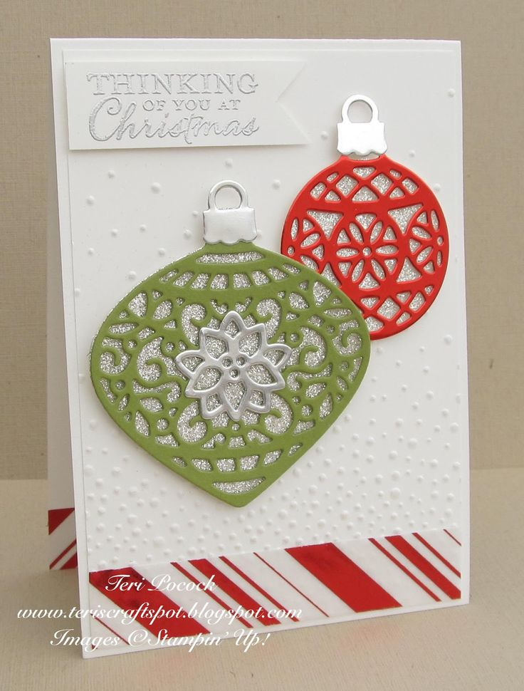 Stampin Up Uk Demonstrator Teri Pocock Embellished