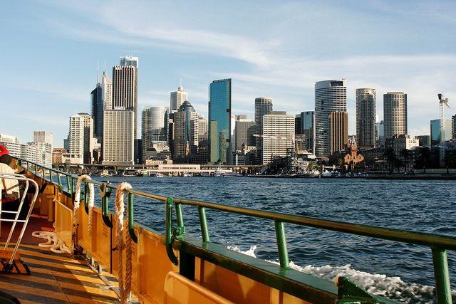 Ferry to Circular Quay