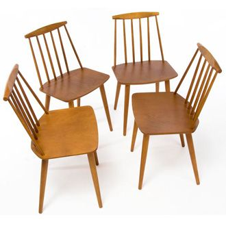 88 best images about danish modern dining rooms on for Danish dining room chairs