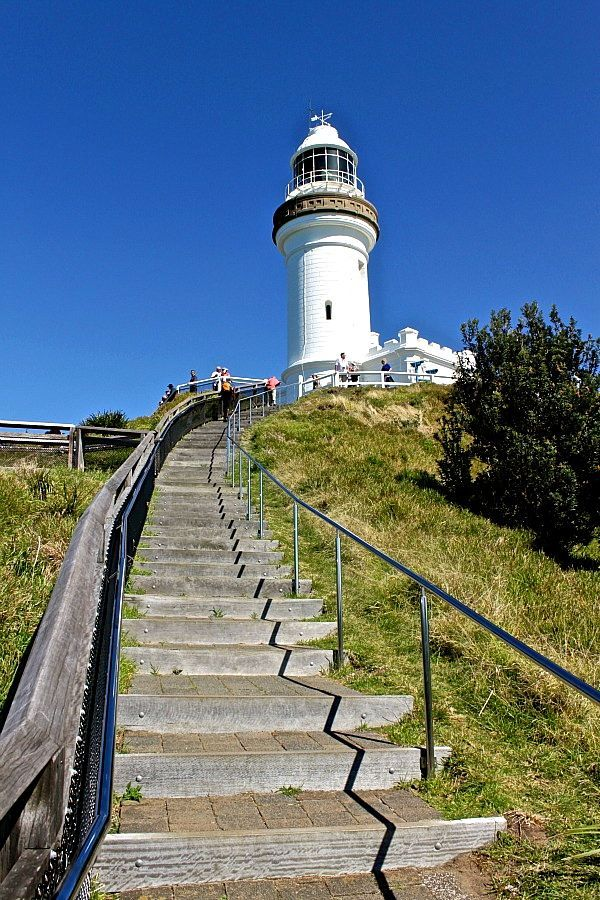Byron Bay Lighthouse, Australia. The most Easterly point of Australia.