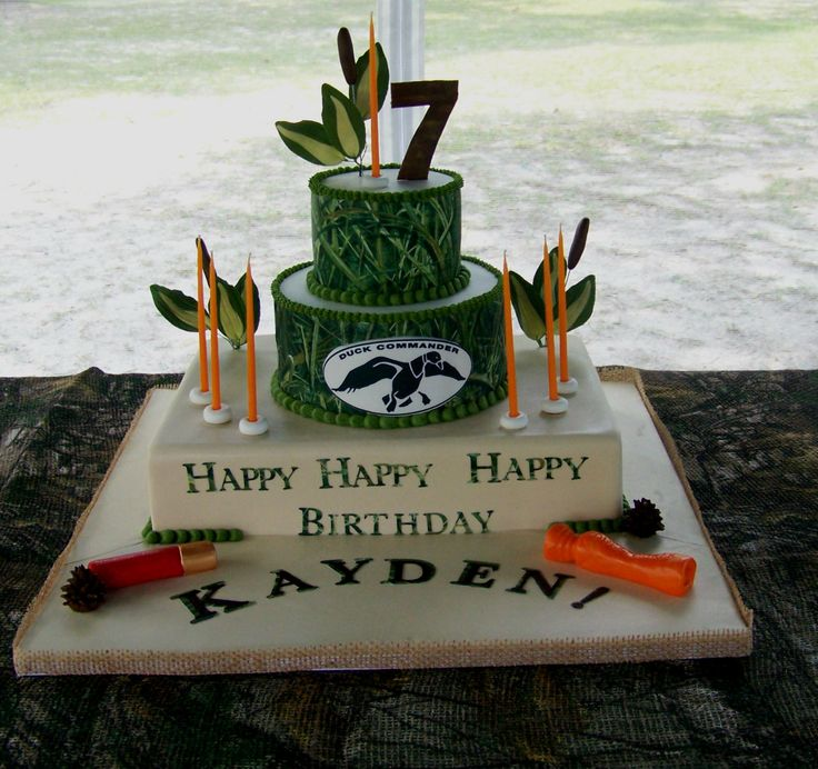 7 best Duck Dynasty Cakes images on Pinterest Duck dynasty cakes