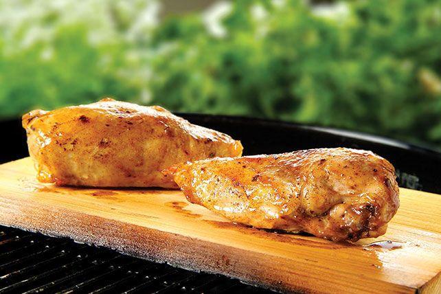 Cedar-Planked Honey-Spiced Chicken Recipe