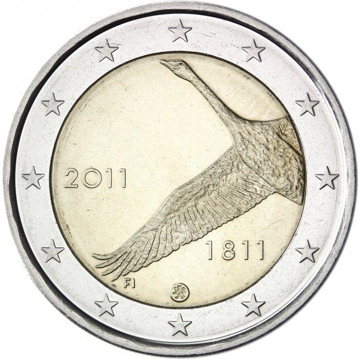 Suomi 2011 2 € Suomen Pankki 200v UNC