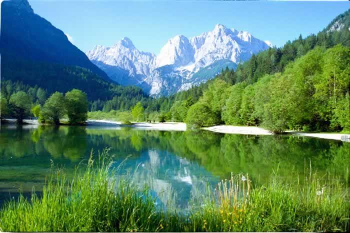 Magnificent peaks around Kranjska Gora