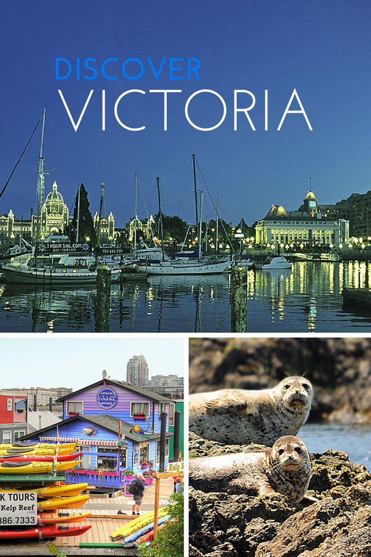 Victoria, British Columbia - a city on the edge of nature