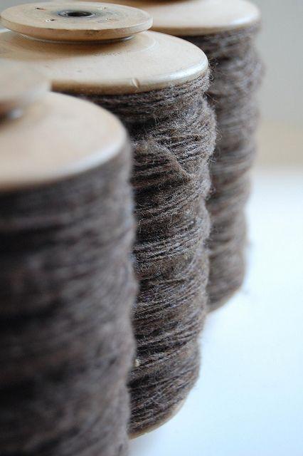 hand spun...Gorgeous Grey, Grey Linens, Wooden Spools, Texture Design, Hands Spun Yarns, Grey Yarns, Display Ideas, Gray, Newborns Photography