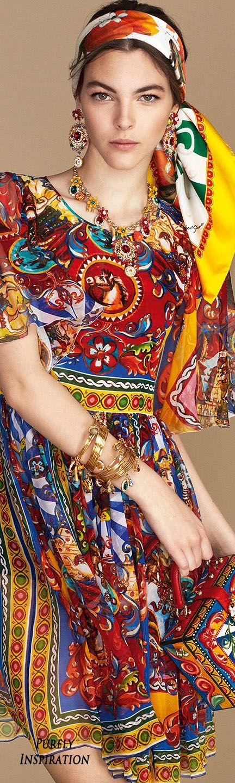 Dolce & Gabbana SS2016 Carretto Siciliano Women's Fashion RTW   Purely Inspiration