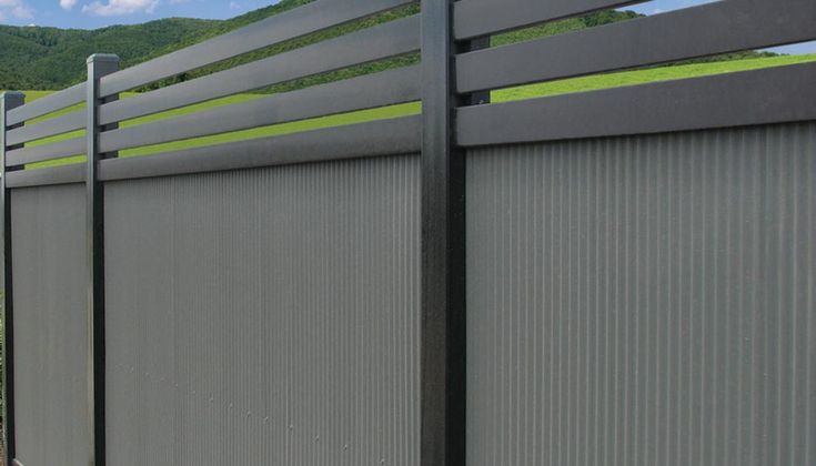 Fencing made from COLORBOND® steel - BlueScope Steel