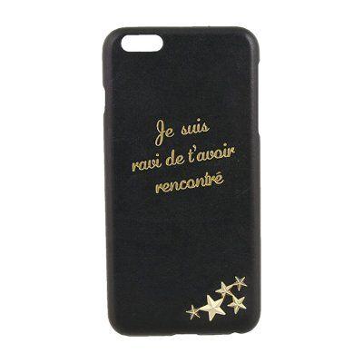 アビエ iPhone6プラス用ケース 星スタッズ ブラック HBIC43 LABCLIP | 西武・そごうのe.デパート | ロフトスマートフォンケース