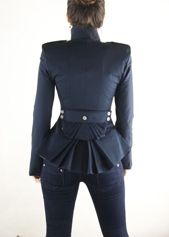 dina jacket by lauragalic on Etsy, $199.00
