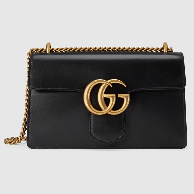 Gucci Women - GG Marmont leather shoulder bag - 431777CDZ0T1000
