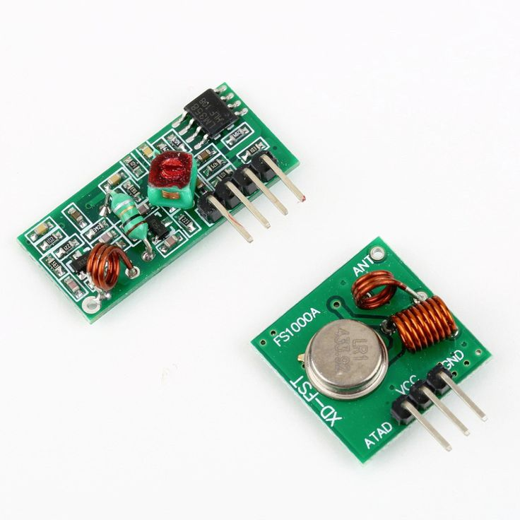 1Set Link Kit Wireless RF Transmitter and Receiver Module for Arduino/ARM/MCU Remote Control Hot Worldwide